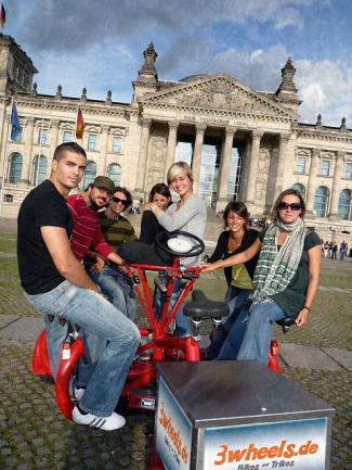berlin conferencebike konferenzfahrrad konferenzrad konferenzbike 3wheels berlin
