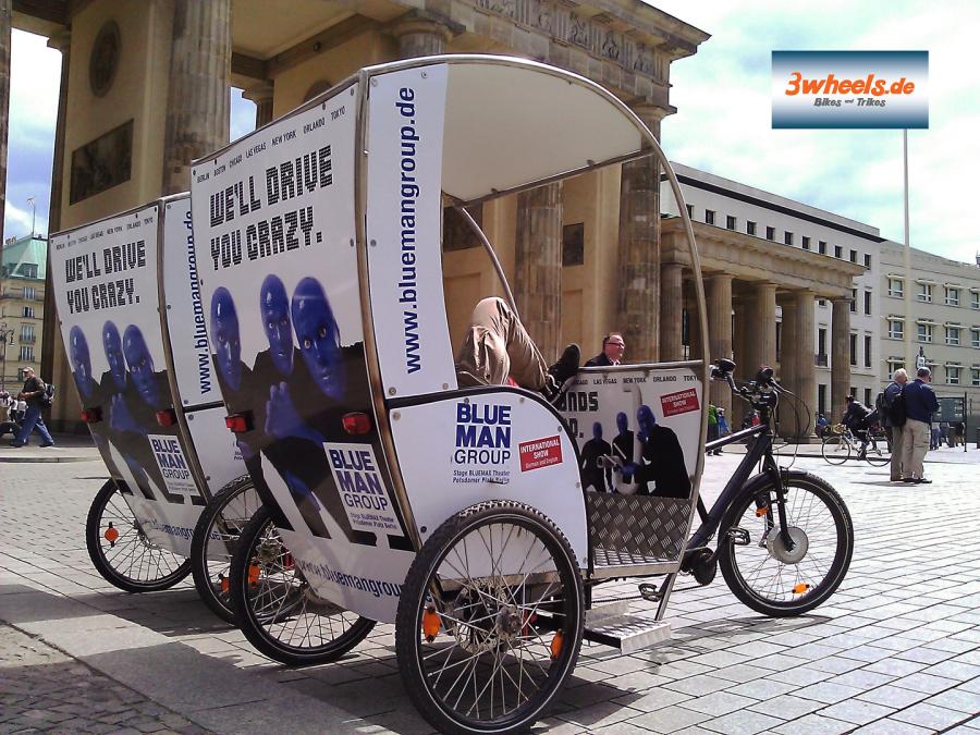 Berliner Rikscha Sightseeing Tours Berlin Fahrradtaxi Berlin Stadtrundfahrt