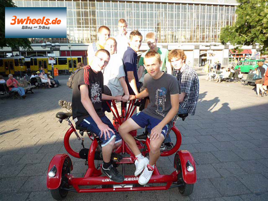 Fahrradtour Berlin auf TeamBike Alexanderplatz - 3wheels.de