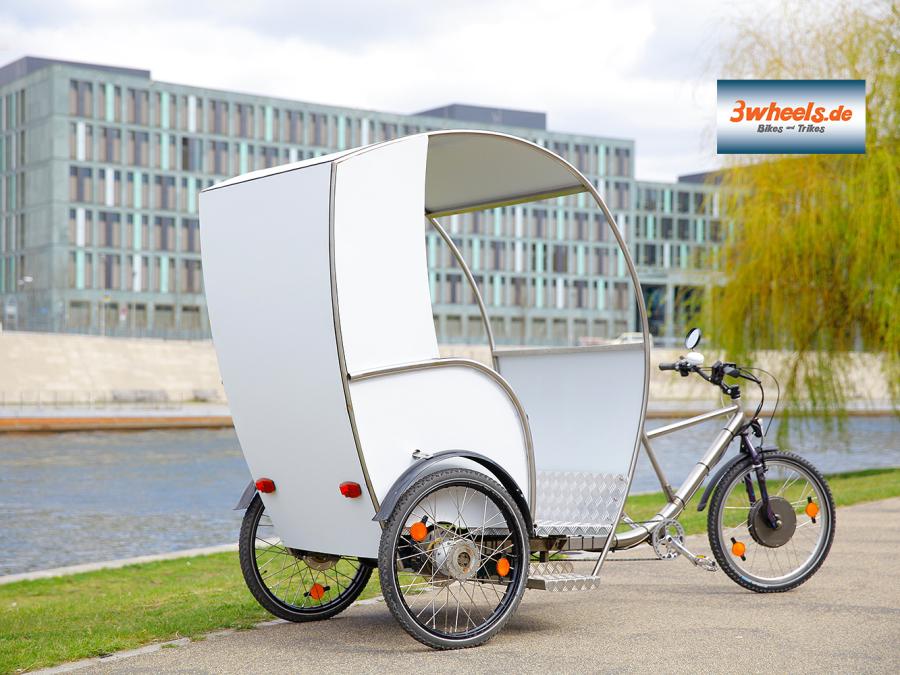 Berlin Rikscha kaufen - Rikscha Verkauf Berlin - rickshaw sales - pedicab sales - Fahrradtaxi Berlin Verkauf