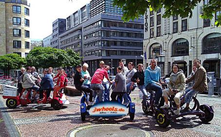 berlin sieben personen fahrrad berlin 7 sitzer fahrrad berlin multi rad