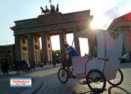 berlin rikscha tour rikscha taxi rickshaw sightseeing berlin 3wheels Fahrradtaxi Berlin