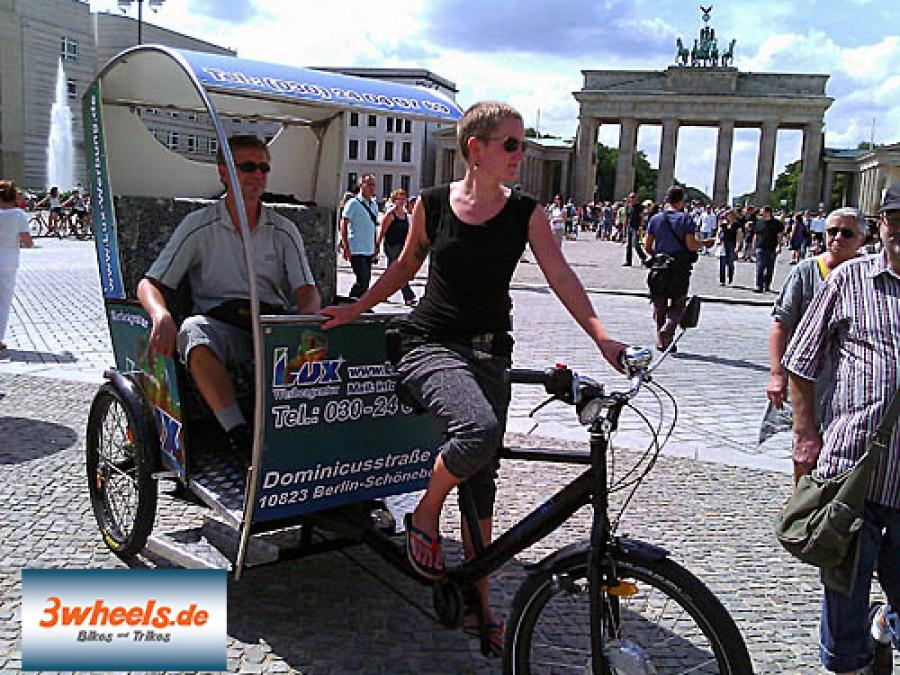 Stadtführung Rikscha Berlin - 3wheels.de
