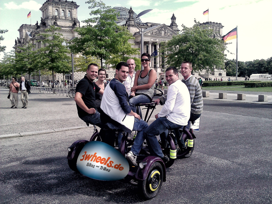 Konferenz Rad Berlin - Konferenz Fahrrad City Tour